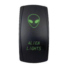 Alien Lights LED Rocker Switch