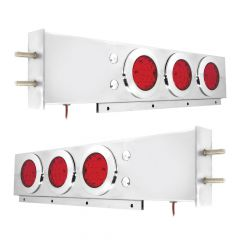 Spring-Loaded Two-Piece Rear Light Bar with Fleet LED