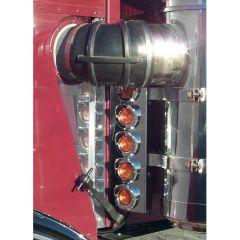 "Peterbilt 359 15"" Vortox Front AC LED Light Bars"
