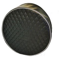 Quilted Fuel Tank Covers with Deluxe Bead
