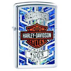 Harley-Davidson 1903 Blue Zippo