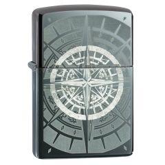 Black Ice Compass Zippo