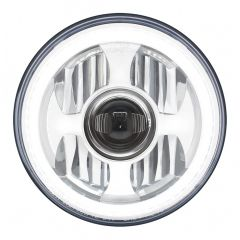 """7"""" LED Projection Headlight with Halo Light"""
