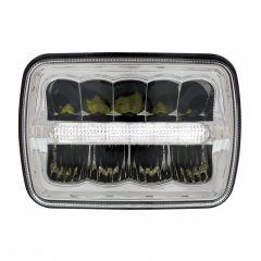 """5"""" x 7"""" LED Headlight with Light Bar"""