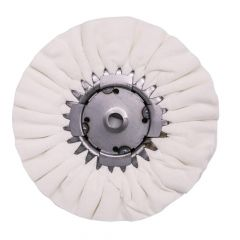 "9"" Airway Buffing Wheel with Center Plate"