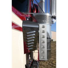 "Kenworth 15"" Front Air Cleaner M3 LED Light Bars"