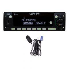 Aptiv Heavy-Duty Radio AM/FM/WB with Integrated Bluetooth® Mic