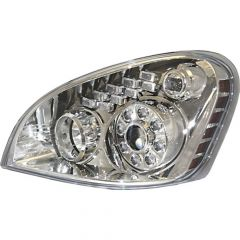 Freightliner Cascadia Headlights with Amber Turn Signal