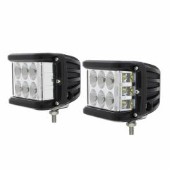6 High Power LED Rectangular Driving/Work Light