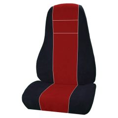 Leather & Corduroy Seat Cover for Freightliner Cascadia