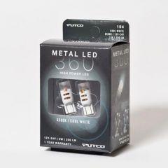 White 194 15-LED 360-Degree Light Bulb
