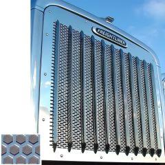 Freightliner 14-Gauge Steel Hexagon Punched Grill