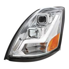 Volvo VN/VNL Projection Headlight with LED Position Light Bar