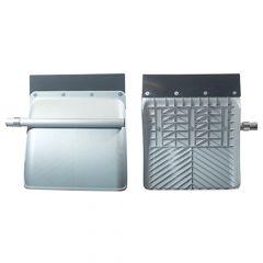 Silver Anti-Spray Quarter Fenders