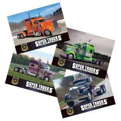 Series 17 CAT Scale Super Trucks Card Set