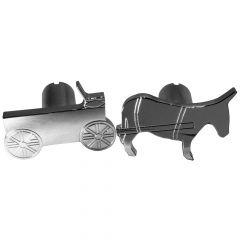 Donkey and Cart Shaped Air Valve Knobs