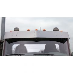 "Peterbilt 579, 567 Flat-Top, Daycab 11"" Drop Visor"