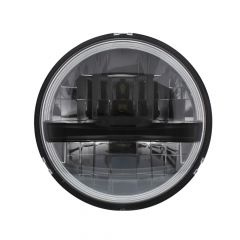 "5-3/4"" Black 8 High Power LED Headlight"