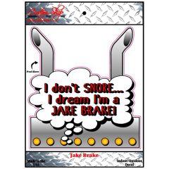 Jake Brake Decal