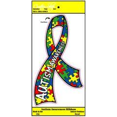 Autism Awareness Ribbon Decal