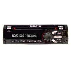 Delphi Heavy-Duty SiriusXM Radio with Bluetooth, Red/Blue