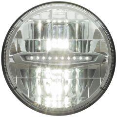"""7"""" Round Opti-Brite High/Low Beam LED Headlight"""
