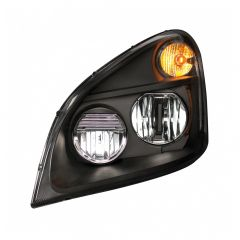 Freightliner Cascadia Blackout LED Headlights