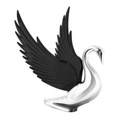 Bugler Windrider Hood Ornament with Black Wings