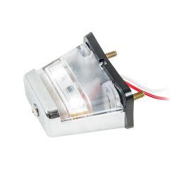 Rectangular 2 LED License Light, Stud Mounted