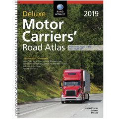 2019 Rand McNally Deluxe Motor Carriers' Atlas