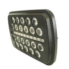 "5"" x 7"" Black Ops Headlight"