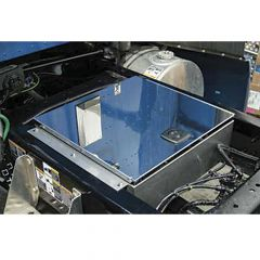 """25""""L x 24""""W x 7""""D Stainless In-Frame Tool Box"""