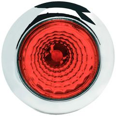 """3/4"""" 1 LED Button Light with Reflector"""