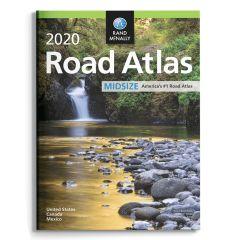 2020 Rand McNally Road Atlas Midsize