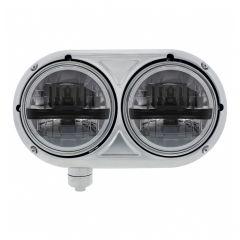 Peterbilt 359 Blackout Dual Bulb Headlight