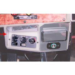 Peterbilt Left Side Heater Control Trim