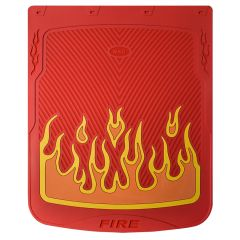 """24"""" x 30"""" Red Flame Mud Flaps (PR)"""