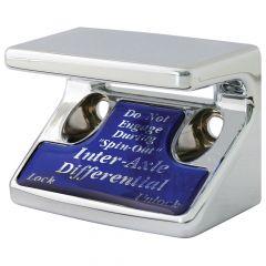 Axle Differential Switch Guard w/Blue Sticker
