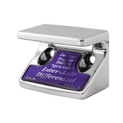 Axle Differential Switch Guard w/Purple Sticker