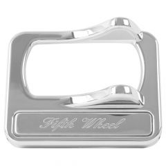 Chrome Rocker Switch Cover for 5th Wheel