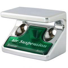 Air Suspension Switch Guard w/Green Sticker