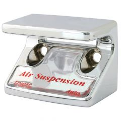 Air Suspension Switch Guard w/Silver Sticker