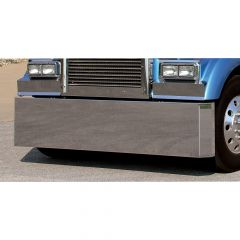 Kenworth W900 Stainless Steel Mitered End Bumper