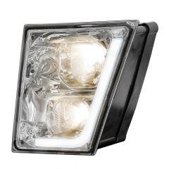 Volvo VN VNL Chrome Fog Light with LED Position Light
