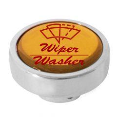 CHROME WIPER WASHER KNOB GOLD