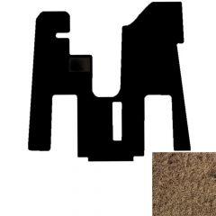 1-Piece Carpet Floor Mat for Peterbilt 379/386/388/389 in Beige