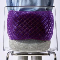 Purple Gel Back Cushion