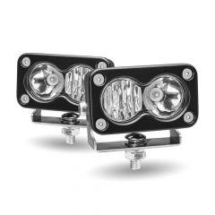 "3"" Mini Rectangular 2 LED Work Lamps"