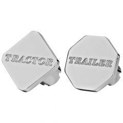 Aluminum Tractor/Trailer Air Valve Knob