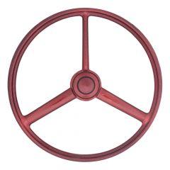 "20"" 3-Spoke Retro Red Sparkles Steering Wheel"
